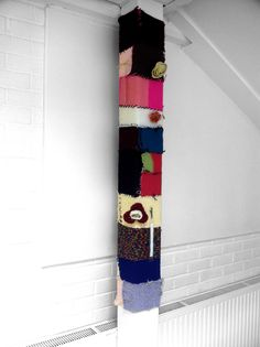 Our first knit bombing assignment around the school Floral Tie, Stitches, Knitting, School, Accessories, Image, Loreto, Floral Lace, Sewing Stitches