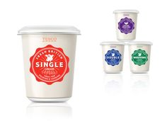 Tesco Cream on Packaging of the World - Creative Package Design Gallery