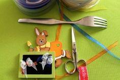 Come fare fiocchetti di nastro con forchetta - Tutorial