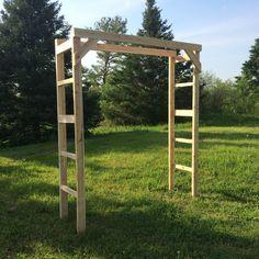 White Cedar Wedding Arch Kit