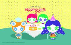 프리퐁의 생일이네요^^ 굿베리가 만든 케이크로 생일 파티를 즐기는 토핑걸즈입니다~^^