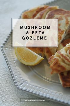 Looking for a simple vegetarian dinner idea? This mushroom, feta and spinach gozleme recipe is the BEST. Easy to make, and delicious to eat!