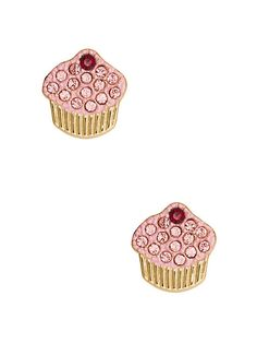 things we love pave cupcake studs - kate spade new york