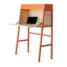 IKEA PS 2014 Bureau - orange/birch veneer - IKEA