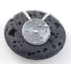 Image of Galaxy Pendant - Sterling silver