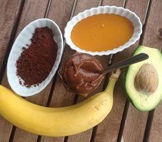 Sorvete de chocolate saudável