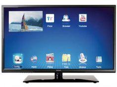 "Smart TV LED 40"" Semp Toshiba DL4077I Full HD - Conversor Integrado 2 HDMI 2 USB"