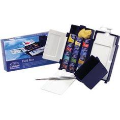 Winsor & Newton™ Cotman™ Watercolor Field Box Set: Multi, Pan, Watercolor, (model 0390639), price per set