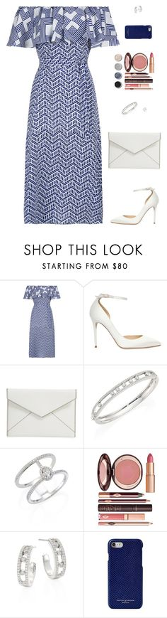 """""""Sin título #4607"""" by mdmsb on Polyvore featuring moda, Jimmy Choo, Rebecca Minkoff, Messika, Terre Mère, Charlotte Tilbury y Aspinal of London"""