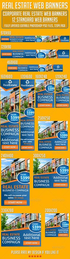 Real Estate Web & Facebook Banners | Facebook, Facebook banner and ...