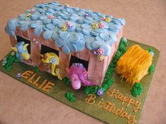Pony Birthday Cake by SugarArt Cakes by Kassie
