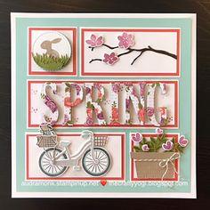 the crafty yogi: Spring Framed Art Sampler - Stampin Up - Collages, Collage Frames, Box Frame Art, Shadow Box Frames, Stampin Up, Stamping Up Cards, Marianne Design, Frame Crafts, Spring Crafts