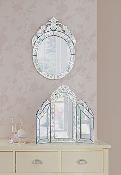 Vintage style Venetian Dressing Table Mirror from Argos.
