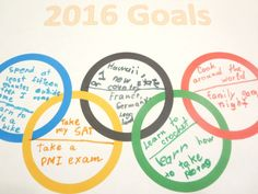Planet Smarty Pants: Go for the Gold: New Year Resolutions
