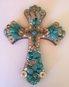 Western Turquoise Cross