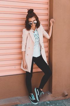 37 ideas for photography fashion street nyc Indie Rock Fashion, Casual Outfits, Fashion Outfits, Womens Fashion, Maxi Blazer, Plus Size Hairstyles, Look Legging, Look Office, Look Blazer