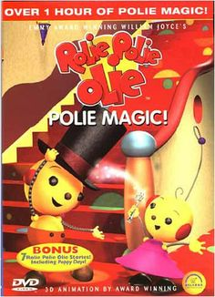 Rolie Polie Olie - Polie Magic! DVD Movie Movie Gifs, Movie Tv, Animation 3d, Childhood Movies, Price Sticker, Magic Tricks, Teaching Tools, Mom And Dad, Shit Happens