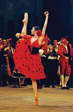 Diana Vishneva of the Kirov Ballet in Don Quixote