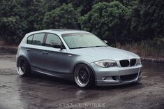 Tony Lin's BMW hatchback is here to show Americans what we're really missing out on. Bmw 116i, Bmw Cars, My Dream Car, Dream Cars, Bmw Performance, Air Ride, New Bmw, Cabriolet, Rear Wheel Drive