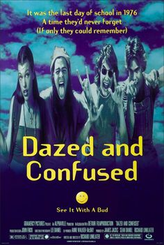Dazed and Confused Movie Poster (1993)