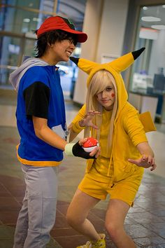 Pikachu! Except more awesome than her and less slutty than all the other pikachu cosplay pictures on the internet...