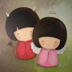les peintures de Myriam Lakraa