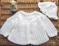 Newborn baby's infant traditional white lacy lace by bebbyjumpers