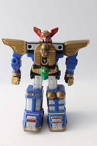 "Vtg 1996 Bandai Power Rangers Power Sword Action Zeo Megazord 5"" Gold Shoulders | eBay"