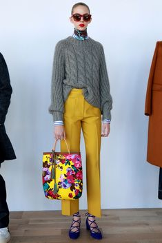 All of the Vibrant Looks From J.Crew's New Designer - Racked Quirky Fashion, Look Fashion, Fashion News, J Crew Fashion, Fall Fashion, Fashion Trends, Mode Outfits, Stylish Outfits, Fashion Outfits