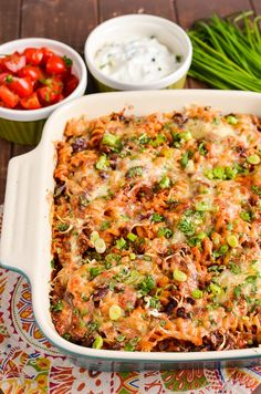 Syn Free Mexican Pasta Bake Slimming World Pasta Bake, Slimming World Recipes Syn Free, Slimming Eats, Pasta Recipes, Diet Recipes, Vegetarian Recipes, Cooking Recipes, Healthy Recipes, Mince Recipes