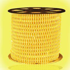 SMD3014 Dual Row High Voltage 110&220V RGB LED Strips, Waterproof IP67, 240LEDs Per Meter, 50&100 Meter (164&328ft) Per Reel By Sale