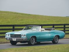 1970 Chevrolet Chevelle SS 454 LS-6 Convertible