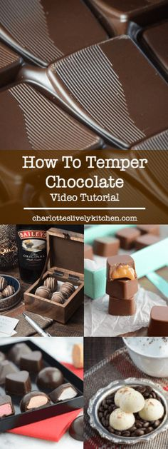 to temper chocolate - video tutorial. MoreHow to temper chocolate - video tutorial. Vino Y Chocolate, Chocolate Work, Modeling Chocolate, Chocolate Desserts, Chocolate Chocolate, Chocolate Candies, Chocolate Fondant, Chocolate Cupcakes, Chocolate Videos
