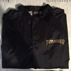 5449c4bd631e Shop Women s Thrasher Black size S Sweaters at a discounted price at  Poshmark.