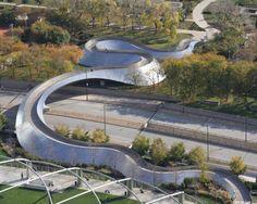 The BP bridge.  Doesn't it look like a snake?