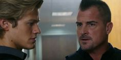 George Eads and Lucas Till as Jack Dalton and Angus MacGyver in the MacGyver reboot