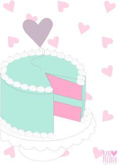 Fofurices, printables, cake, yummy :) @ Nani Pizzolo @ Nani Pizzolo