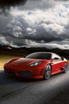 Red Ferrari F43 Scuderia