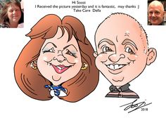 Gift Caricature Kent London, Caricature From Photo, London Wedding, Pen And Paper, Trade Show, Corporate Events, First Love, Product Launch, Gift
