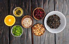 клюква - секретный ингредиент в салате из дикого риса  #omactiv Fat