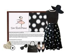 """DasRockHaus"" by mim01 ❤ liked on Polyvore featuring Simone Rocha, Zara, Prada and Chanel"