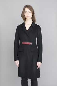North Wool & Cashmere Jacket Cashmere Jacket, Pony Hair, Simple Lines, Styles, S Models, Wool, Link, Fabric, Sleeves