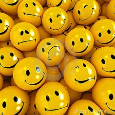 Smilies with different expressions by La Fabrika Pixel S.l., via Dreamstime