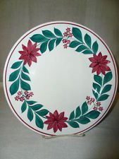 "Vintage 9"" Maastricht Spongeware Stick Spatter Plate Made in Holland Nice"