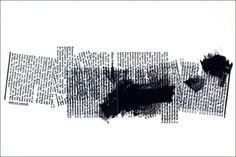 "Herbert Titz ""Ohne Scheuklappel,  sérigraphie 32 x 48 cm, 4 couleurs."