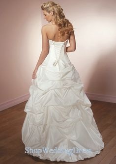 diffrent wedding gowns | ... Ruche Beading Lace Up Perfect Modern Unique Tiered Cheap Wedding Dress