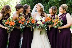 Dark Rustic Wedding Color Pallet