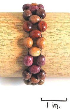 Wood Bracelet - Bibi - Natural Artist