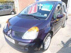 Used 2006 (06 reg) Purple Renault Modus 1.5 dCi 86 Dynamique 5dr [AC] Euro 4 for sale on RAC Cars