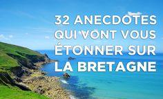 Saviez-vous que la Bretagne est l'un des trois seuls endroits au monde où l'on trouve une côte de granit rose?